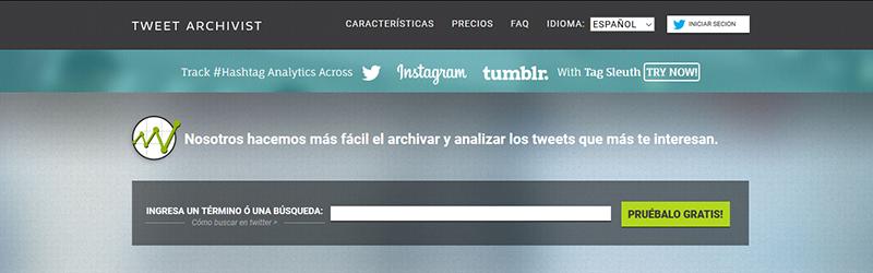 Tweet Archivist